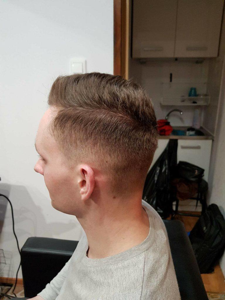 modna fryzura męska